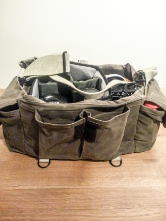 Photograph of the Domke F-2 Ruggedwear Camera Bag